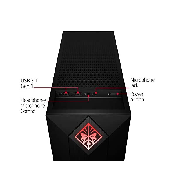 OMEN by HP Obelisk Gaming Desktop Computer, AMD Ryzen 5 2600 Processor, NVIDIA GeForce GTX 1060 6 GB, HyperX 8 GB RAM… 2