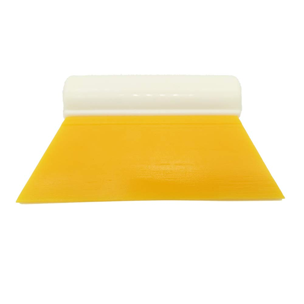 GUGUGI CARTINTS Mini Rubber Squeegee Sink Squeegee Shower Squeegee with Tube Handle for Bathroom Cleaning Car Window Tint Sink Cleaning