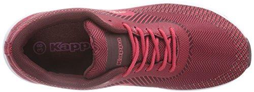 Kappa MILLA KNT Footwear women - zapatilla deportiva de lona mujer rojo - Rot (2025 red/darkred)