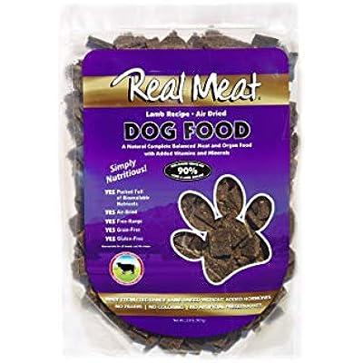 Real Meat Air-Dried Dog Food, Lamb