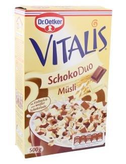 Dr. Oetker Vitalis Schoko Duo Müsli 500 g