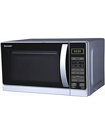 Sharp 20 Litre Microwave and Grill, Silver