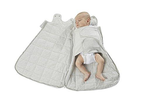 Gunapod Newborn Swaddle Sack 5-Way Swaddling Blanket Luxury  Rayon Bamboo Sleeping Bag with WONDERZiP by Gunapod