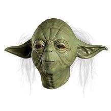 Rubies Costume Star Wars Master Yoda Deluxe Adult Overhead Latex Mask