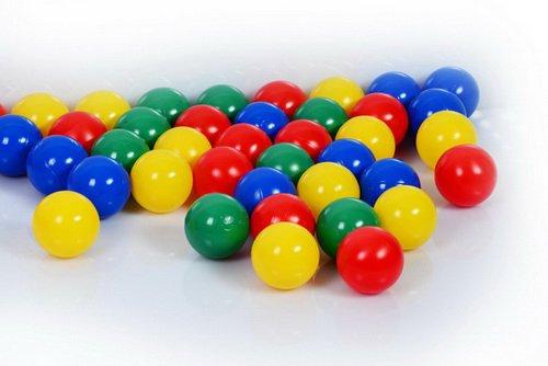 1.000 Stück Bällebad Bälle 6cm in Kindergarten & Gewerbequalität Babybälle Plastikbälle ohne gefähliche Weichmacher (Test neu vom SEPTEMBER / 2011) koenig-tom TM Ihr Bällebad Spezialist