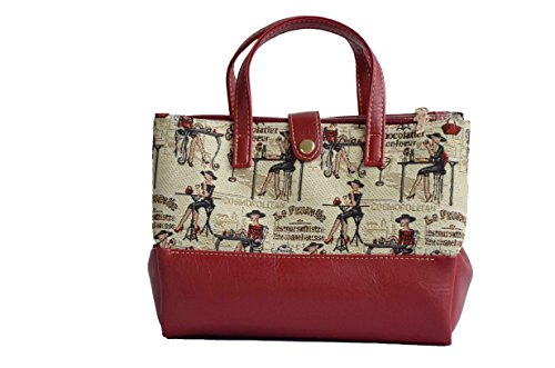 Borsa per cosmetici sacchetto della lavata alla moda in tessuto stile arazzo Rendez-vous