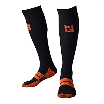 MudGear Compression Socks - Men's and Women's Running Socks Built Strong for Outdoor Sports Performance & Recovery