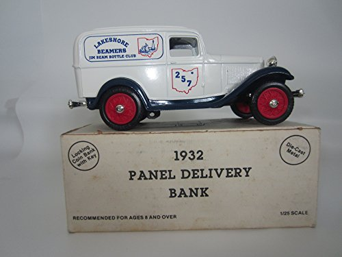 ERTL 1932 Panel Delivery Bank - Jim Beam Bottle Club Lakeshore Beamers 257