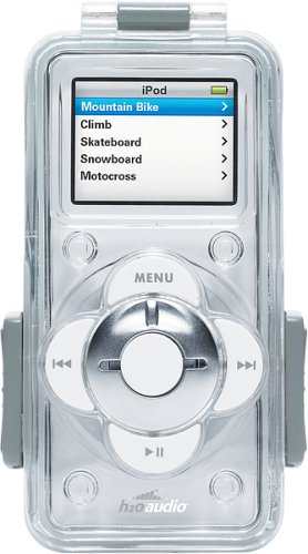 H20 Audio Outdoor Case for iPod nano 1G, 2G (Clear)