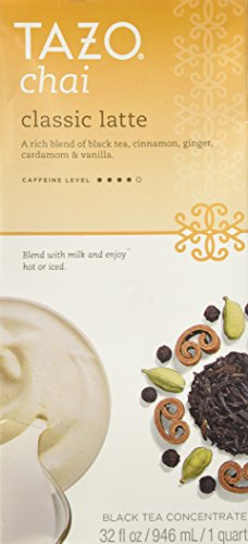 Tazo Chai Tea Latte Concentrate 32 oz
