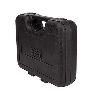 BLACK+DECKER HD455KA 10mm 550 Watt Impact Drill Kit, Engineered Plastic (Orange, 41-Pieces) 14