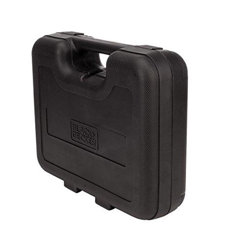 BLACK+DECKER HD455KA 10mm 550 Watt Impact Drill Kit, Engineered Plastic (Orange, 41-Pieces) 7