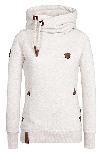 Oma Sweatshirt (Naketano Women's Hoody Darth X Oma Melange, L)
