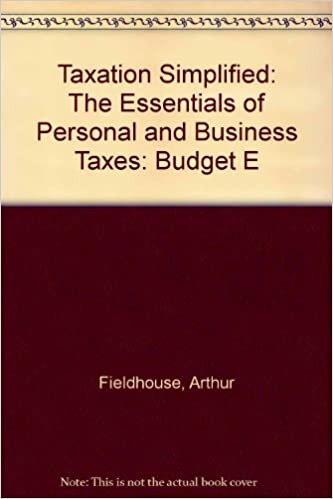 amazon taxation simplified 1988 budget e the essentials of