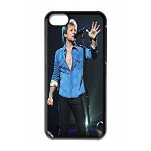 [bestdisigncase] For Iphone 4 4S-Bon Jovi Pop-Metal Music Band PHONE CASE 1