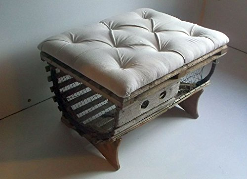Incredible Rustic Lobster Trap Restoration With Original Hardware Upholstered Tufted Ottoman Coffee Table Andrewgaddart Wooden Chair Designs For Living Room Andrewgaddartcom