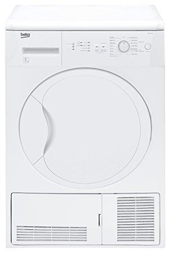 Beko DCU 7230 Kondenstrockner / B / 504 kWh/Jahr / 7 kg / weiß / Kindersicherung / Galvanisiert