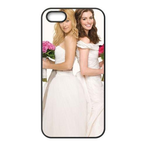 Bride Wars 4 coque iPhone 4 4S cellulaire cas coque de téléphone cas téléphone cellulaire noir couvercle EEEXLKNBC23791