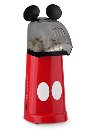 Disney DCM-201 Mickey Mouse Air Popper, Red/White/Black