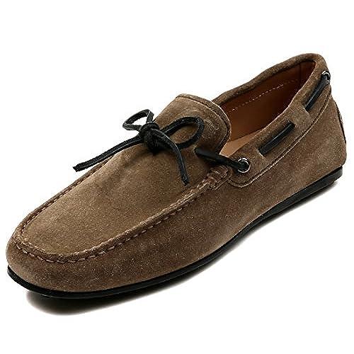 5c148ff800 good Wiberlux Tod's Men's Suede Logo Detail Driving Shoes ...
