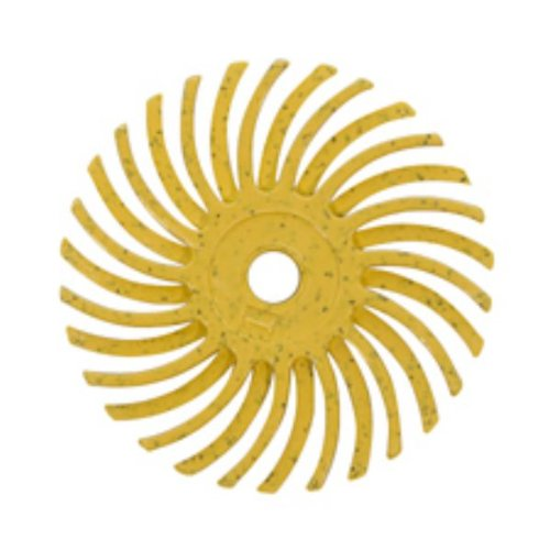 Radial Disc, Yellow, 1 Inch, 80g, Pack Of 12 | BRS-590.30