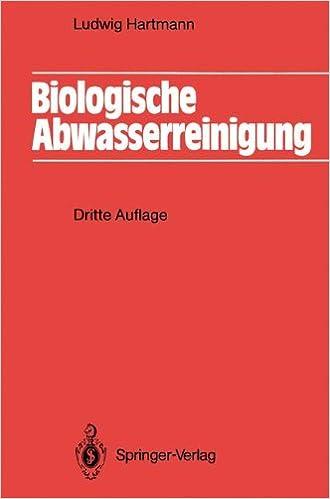 Book Biologische Abwasserreinigung (Springer-Lehrbuch) (German Edition)