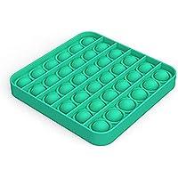 Push Pop Bubble Sensory Fidget Toy -Square - Green