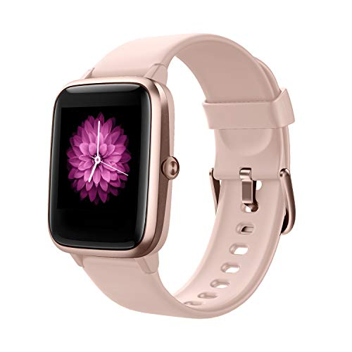 Smart Watch,Fitness Tracker Smart Bracelet Full Touch Screen Smartwatch IP68 Waterproof Fitness Watch with Heart Rate…