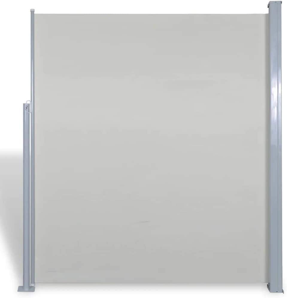 vidaXL Toldo Lateral Retráctil Poste de Acero Gris 160x300 cm ...