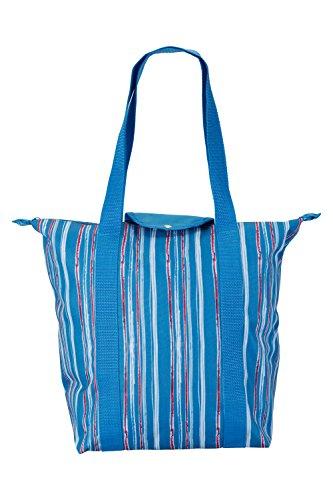 (Mountain Warehouse Cooler Bag - Lunch Tote Handbag Picnics Stripe)