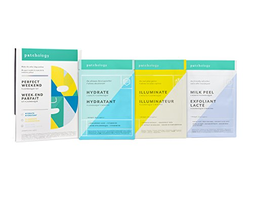 "Patchology ""Perfect Weekend"" FlashMasque Sheet Mask 3 Piece Kit - w