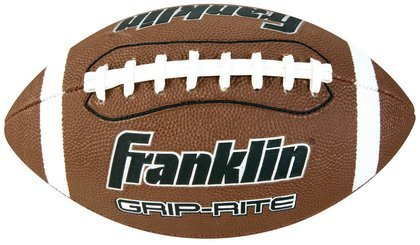 Franklin Sports Grip-Rite Pump and Tee Football Set (Official Size)