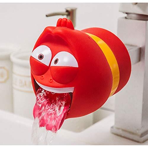 per bambini ideale come regalo per bambini Estensore per rubinetto Larva motivo: cartone animato