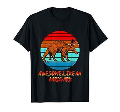 Aardvark Retro Awesome Like An Aardvark T-Shirt