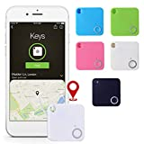 Corgy Key Finder Smart Tracker,Anti-Lost Theft Device Alarm Mini Bluetooth Wallet Key GPS Tracker for Kids Pet GPS Trackers
