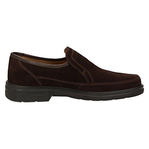 Sioux - Zapatos clásicos de cuero para hombre marrón