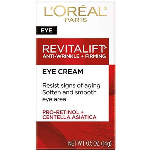 414jTUH1I1L - L'Oreal Paris Skincare Revitalift Anti-Wrinkle and Firming Eye Cream Treatment with Pro-Retinol Fragrance Free 0.5 oz.