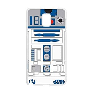 Happy Star Wars Cell Phone Case for Samsung Galaxy Note4