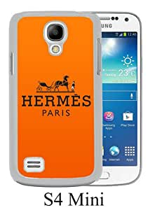 Beautiful Samsung Galaxy S4 Mini Screen Cover Case ,Hermes 26 White Samsung Galaxy S4 Mini Cover Fashionabe And Durable Designed Phone Case