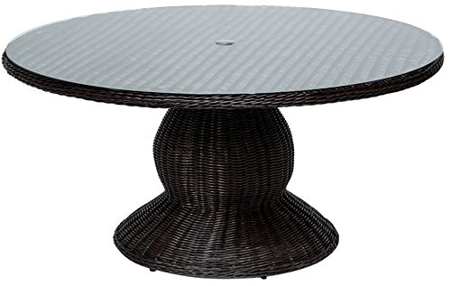(TK Classics VENICE-60 Venice Outdoor Patio Dining Table, 60