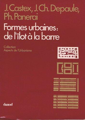 Price comparison product image Formes urbaines : de l'îlot à la barre