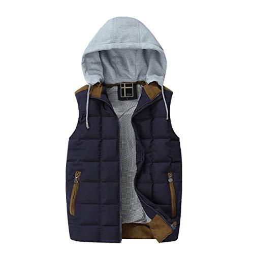 Cotone Caldo Traspirante Blu Uomini E Cappotto Gilet Leggero Scuro Moda Inverno Autunno In Huixin Piumino PRC1n1