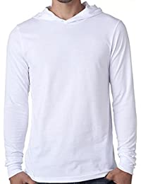 Mens Lightweight Hoodie Tee Shirt