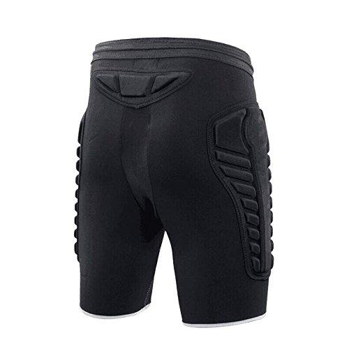 Short Dgyao Compression Pour De T Shirt Protection 3d Rembourré qnwfB76