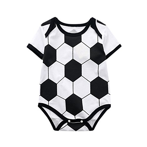 Price comparison product image Kehen Cute Newborn Baby Girls Flower Animal Print Romper Bodysuit Outfits Spring Summer Tops (12-18 Months, World Cup)