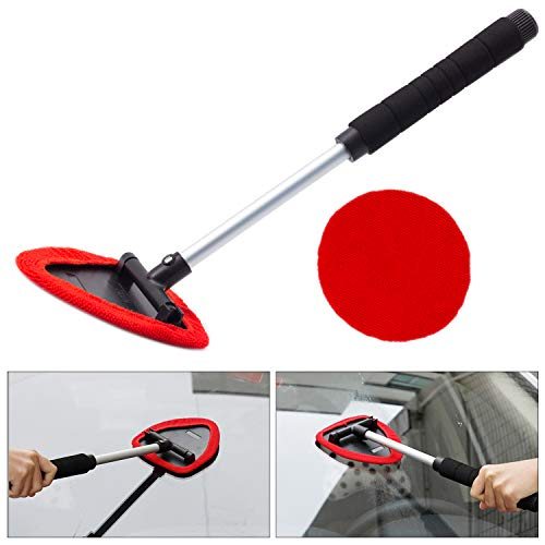 Seven Sparta Window Cleaning Tool, Windshield Cleaner with Extendable Handle, Extendable Windshield Cleaner (Best Inside Windshield Cleaner)