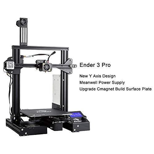 Creality Ender 3 Pro 3D Printer & All Metal MK-8 Extruder Drive Feeder
