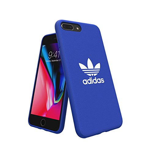 adidas Originals Adicolor Moulded Case/Cover for Apple iPhone 8 Plus/7  Plus/6S Plus/6 Plus (Blue)