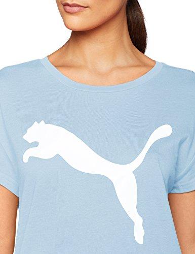 Maglietta Puma T shirt Cerulean Active logo con RBwq1zrR