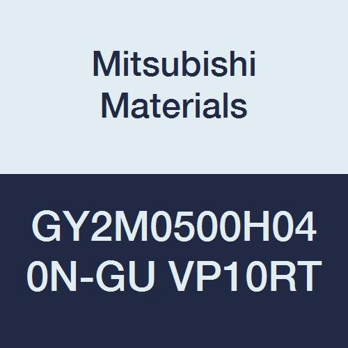 Neutral Hand Pack of 10 Mitsubishi Materials GY2M0500H040N-GU VP10RT GY Carbide Grooving Insert 2 Teeth 0.016 Corner Radius Sintered Peripheral Coated H Seat Size 0.197 Grooving Width